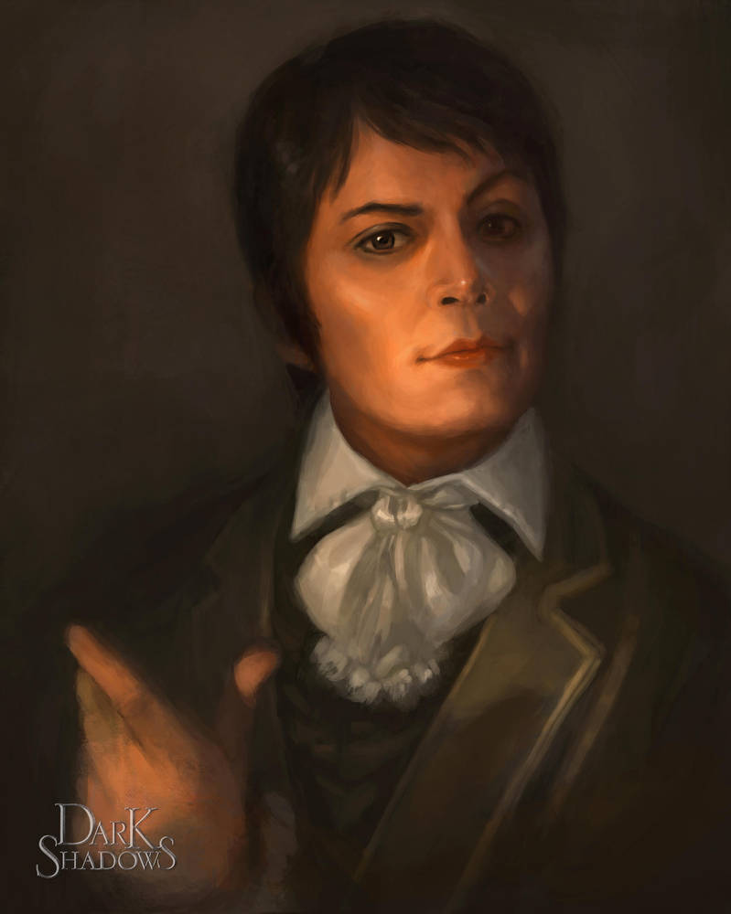Dark Shadows Portrait of Barnabas Before by ...