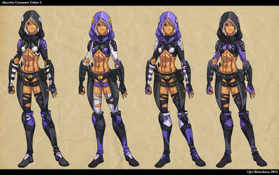 Alacrity Hoody Costume Colors 2 by THEJETTYJETSHOW