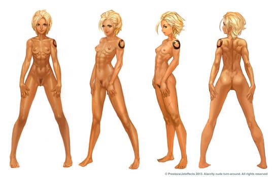 Alacrity Full Nude Turnaround by THEJETTYJETSHOW