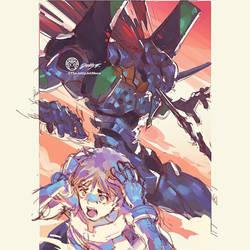 Shinji Ikari #3 By JettyJet by THEJETTYJETSHOW