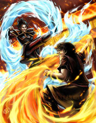 ATLA - The Showdown that was Always Meant to Be by Nijuuni