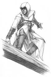 AC - Altair sketch by Nijuuni