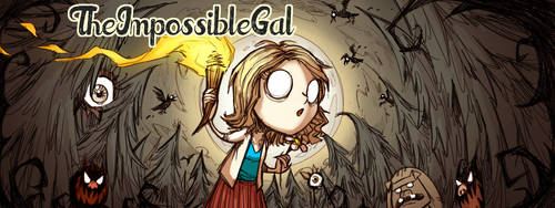 Twitch Banner for The Impossible Gal by Nijuuni