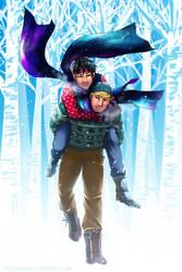 Marvel - TeddyBilly - Dashing Through The Snow by Nijuuni