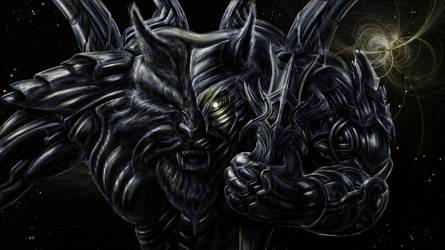 Spacewolf  by Metallart