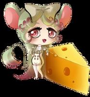 Cute Mouse Girl by Suesanne