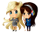 :C: Crystal and Coco by Suesanne