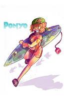 Urban Miyazaki: Ponyo by CorrsollaRobot