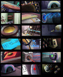 Portal 2: Painting Thumbnails by forte-girl7