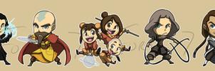 Stickers: Avatar Legend of Korra by forte-girl7