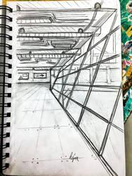 Perspective Sketch by Liz-DarkWarrior