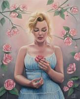 Marilyn Monroe by Emily-Luella