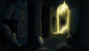024 - Jungle ruins by e-will