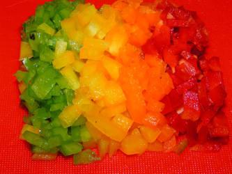 Pepper Rainbow by Nigelapatomoto