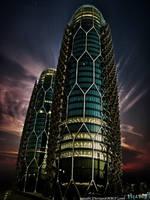 Sea Towers by izaabi