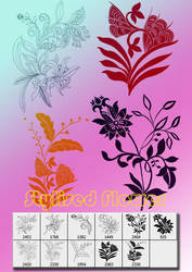 Stylized Flower by designersbrush