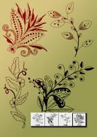 Decorative-flower-cs3 by designersbrush