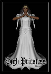 High Priestess by Wolfsongs