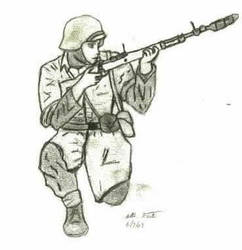 German rifle grenadier by strout
