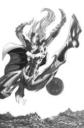 Batgirl by CjB-Productions