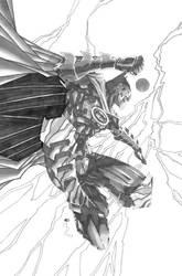 Batman The Dark Knight by CjB-Productions