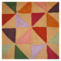 Pinwheel Blanket by AngelGunBoy