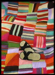 blanket w/zori by AngelGunBoy