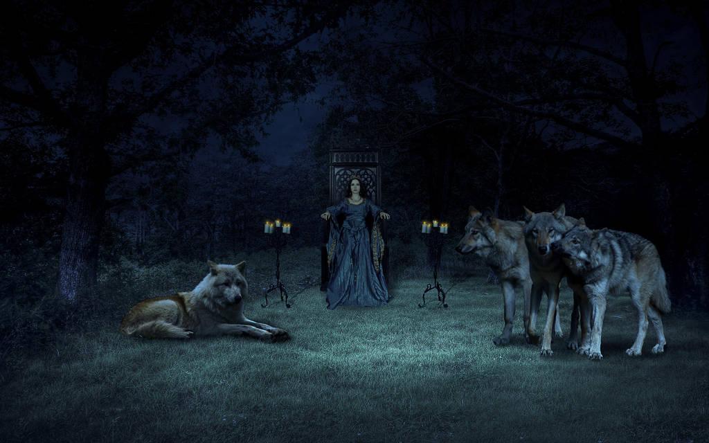 Queen Of Wolves by DeBeerG