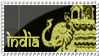 India Stamp by MyStamps