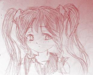 Bacon-chan sketch by SuschnuhSuzu