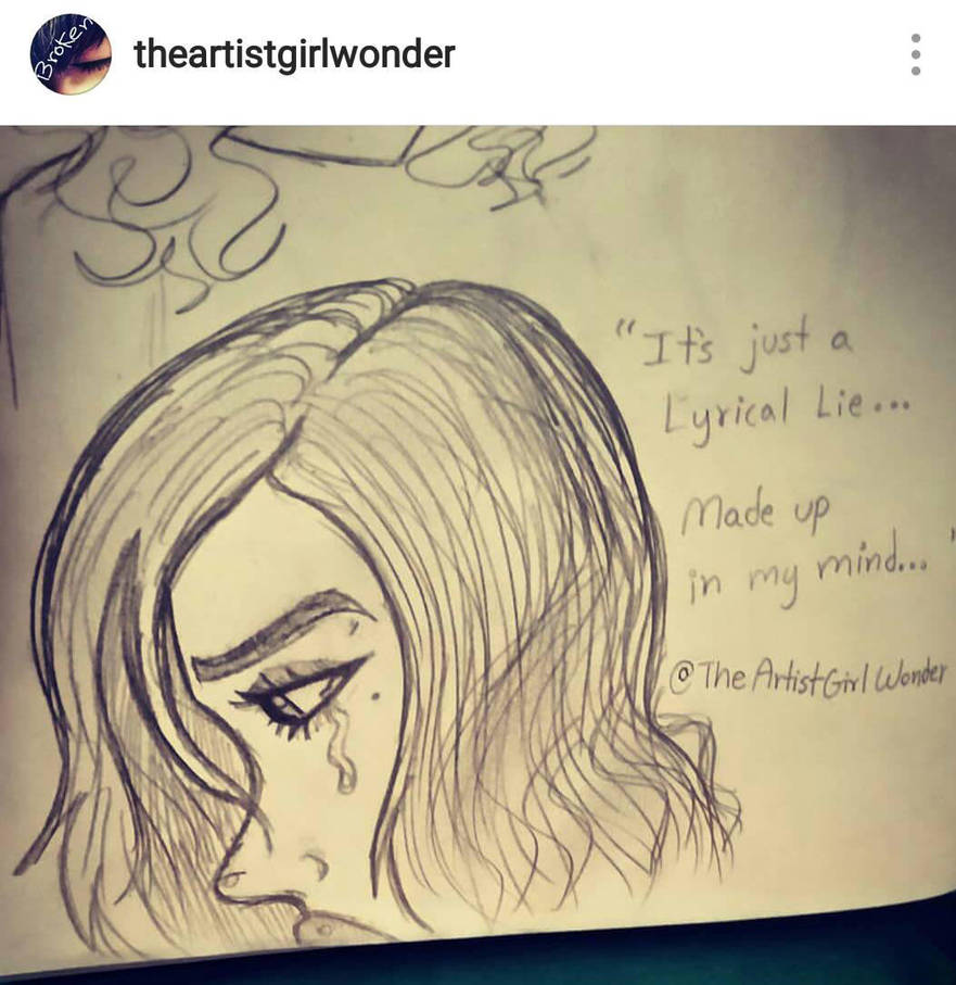 lyrical lies by TheArtistGirlWonder