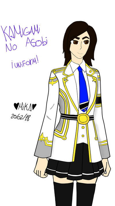 Kamigami no asobi - uniform! by Mikal04-12