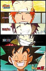 Animes ... Makes me Smile Everyday by VitorAmorosoUzu