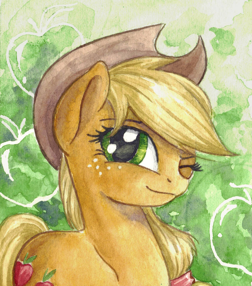 applejack_by_the_wizard_of_art_d709kc2-p