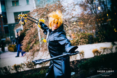 Roxas by On-Dragon-Wings