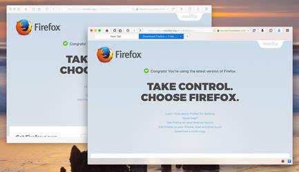 Firefox Transparent Mac OSX El Capitan by OriginalSource