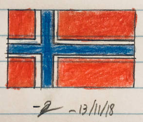 Flag of Norway by HassanLechkar