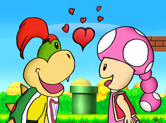 ~Junior x Toadette~ by HassanLechkar