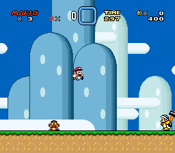 Working on an SMW hack by HassanLechkar