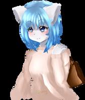 Wolfychu {Fan art} [redraw] by Liskey9238
