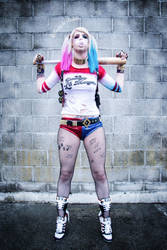 Infamous Harley Quinn by SpiderCoffee