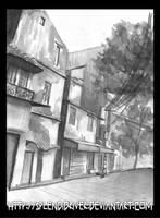 Sketch: Lan Ong street by splendidriver