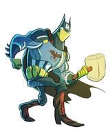 Spider Bat Avenger by splendidriver