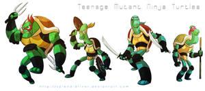 Teenage Mutant Ninja Turtles by splendidriver