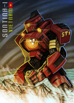 SONTINH-1 (Pacific Rim Inspired) by splendidriver