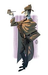 The real Sherlock Holmes by splendidriver