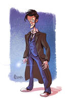 The Tenth Doctor by splendidriver