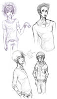 chara concept experimentation by Checkered-Fedora