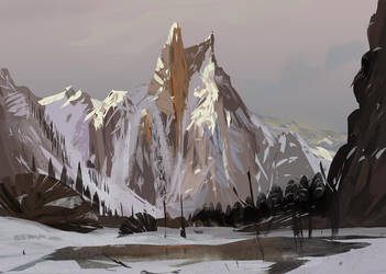 Bierstadt copy by Lyno3ghe