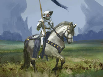 Knight study 2 by Lyno3ghe